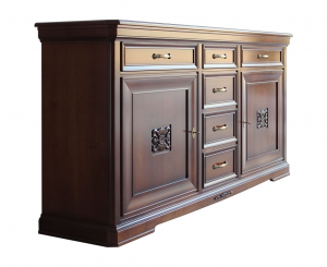 Classic sideboard with inlays