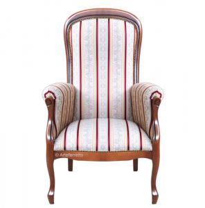 High backrest armchair Voltaire