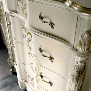 Decorated dresser Fiori di Luna