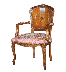 PROMO! Inlaid armchair in classic style