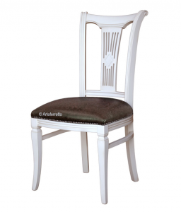 Lacquered dining chair 'Asseoir-53'