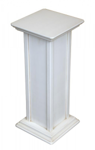 Pedestal stand in wood, 60 cm tall
