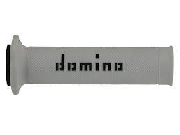 A01041C4046B7 COPPIA MANOPOLE DOMINO ON ROAD BIANCO NERO