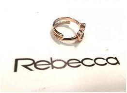 Anello donna Rebecca. Collezione Halfmoon.
