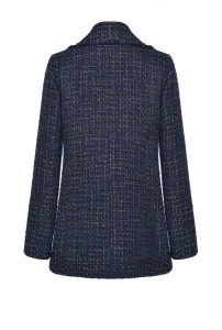 SHOPPING ON LINE PINKO CABAN IN TWEED LUREX FANTASIA PRIMO NEW COLLECTION WOMEN'S FALL WINTER 2020/21