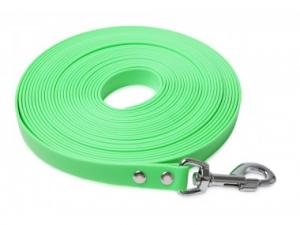 Lunghina biothane, 10metri 19mm, verde, senza maniglia, Firedog