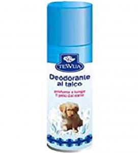 Tewua - Deodorante al talco per cani e cuccioli - Aereosol 600 ml