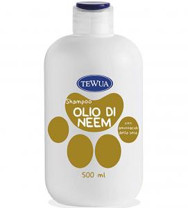 Tewua - Shampoo Ph Fisiologico - Bio Difesa all'Olio di Neem 500ml
