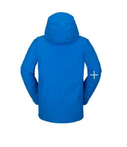 Giacca Snowboard Volcom L Ins Cyan Blue '21
