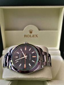 Orologio secondo polso Rolex Milgauss