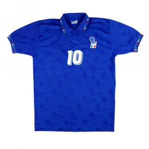 1993-94 Italia Maglia Home #10 R. Baggio L (Top)