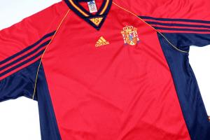 1998-99 Spagna Maglia Home XL (Top)