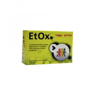 ETOX HELP DRINK - INTEGRATORE A BASE DI CARDO MARIANO E COLINA