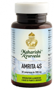 AMRITA 4S - INTEGRATORE MAHARISHI AYURVEDA UTILE COME ANTIOSSIDANTE NATURALE