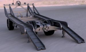 rimorchio per trasporto carro armato M13