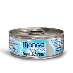 MONGE NATURAL SUPERPREMIUM JELLY PER GATTO 80gr - 6 pezzi