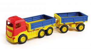 Camion con 6 ruote rimorchio multisponda in rete 1132 ADRIATIC