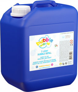 BUBBLE REFILL 3,0 LT. 103.833 DULCOP INTERNATIONAL