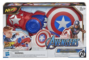 AVENGER POWER MOVES ROLE PLAY CAPITAN AMERICA E7375EU4 HASBRO EUROPA