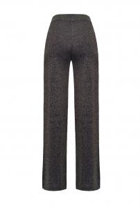 Pantaloni in maglia lurex Pinko