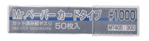 Mr. Paper Card type sand paper #1000