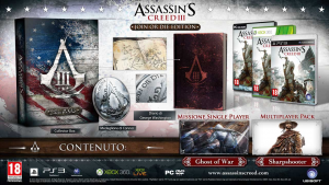 Assassin's Creed III - Join or Die edition -  USATO - PS3