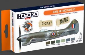 Royal Air Force paint set
