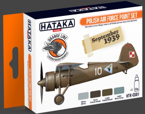 Polish Air Force paint set