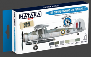 RAF Coastal Command & RN FAA paint set