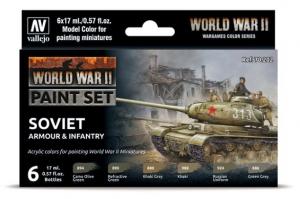 WWII Soviet Armour & Infantry