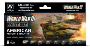 WWIII American Armour & Infantry
