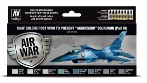 """USAF colors post WWII to present """"Aggressor"""" Squadron Part III"""