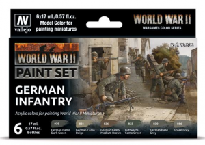 WWII German Infantry
