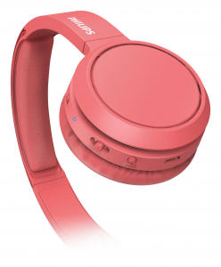 Philips 4000 series TAH4205RD/00 cuffia e auricolare Padiglione auricolare Rosso