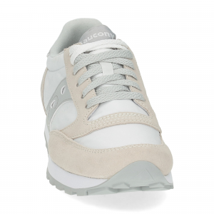 Saucony Jazz Original low white grey-3