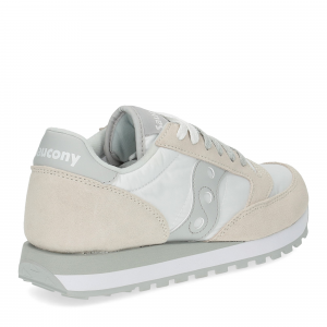 Saucony Jazz Original low white grey-5