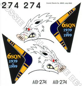 F-111G 6 Sqn RAAF (Tail Art)