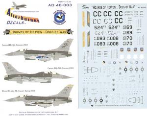 F-16CG 524TH FS