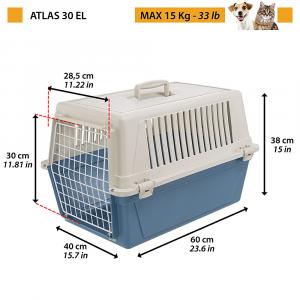 ATLAS 30 EL  Trasportino per gatti e cani di piccola taglia FERPLAST