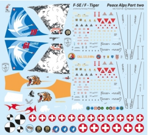 Northrop F-5E/F Tiger Peace Alps Part Two