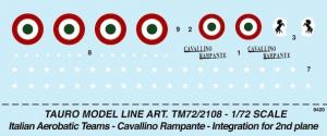 Pattuglia Acrobatica, F86F Cavallino Rampante