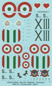 SPAD VII Italian Aces