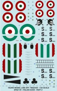 SPAD VII Italian Aces WW I