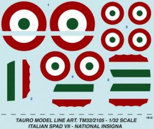 SPAD VII Italian National Insigna
