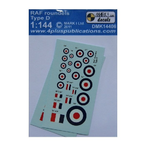 RAF ROUNDELS TYPE D