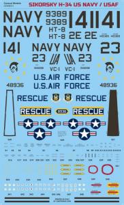 Sikorsky H-34 US Navy/USAF