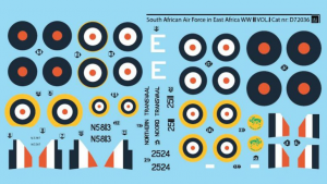 South African Air Force in East Africa