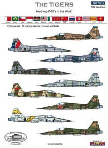 The Tigers - F-5E in the world