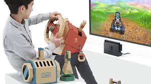 Nintendo Labo - Toy-Con 03 - Vehicle Kit - NUOVO - NSwitch