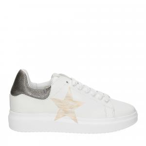 Nira Rubens Angel ALST32 sneaker stella white gold-2